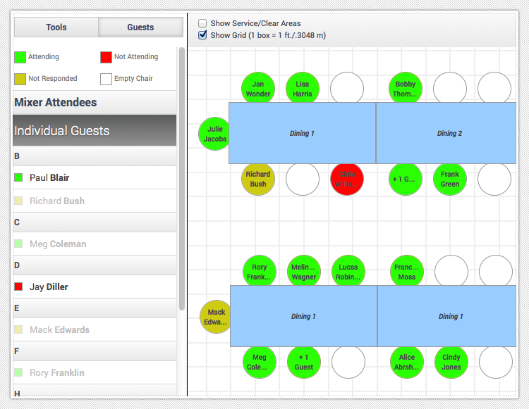 event floor plan software event design layout planner